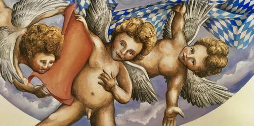 Debatte um freizügige Engel in Münchner Wirtschaft