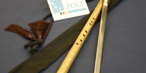 Flughafen München: Waffe in Instrument gefunden