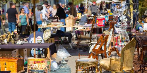 Trödeln, Stöbern, Feilschen: Europas größter Flohmarkt lockt auf die Theresienwiese