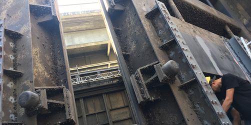 Gerlachshausen: Sanierungsarbeiten der Schleuse fast abgeschlossen