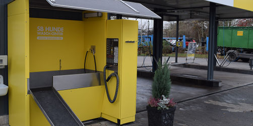 Bad Neustadt a. d. Saale hat jetzt eine Hundewaschanlage
