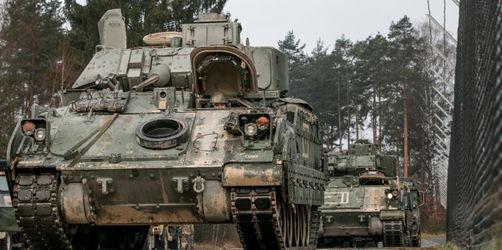 Oberpfalz: US-Panzer rollen durch die Region