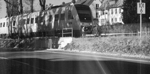 """Blitzer-Foto zum Lachen: Zug in Oberfranken """"zu schnell"""" unterwegs"""