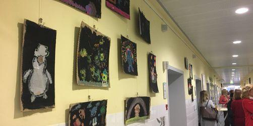 Kunstausstellung im Krankenhaus München-Schwabing: Patienten werden zu Künstlern