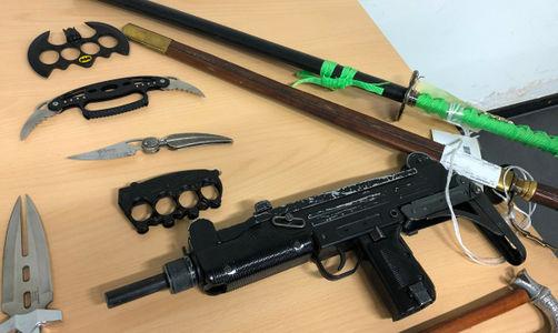 Waffen, Drogen, Elfenbein: Staatsanwaltschaft München öffnet Asservatenkammer