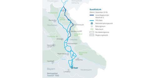 Schwandorf: TenneT stellt Pläne für umstrittene Stromtrasse vor