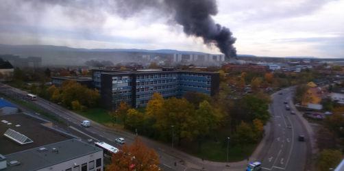 Feuer im Bosch-Werk Bamberg: Polizei gibt Entwarnung