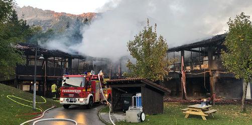 Abgebrannte Schule in Berchtesgaden soll wieder aufgebaut werden