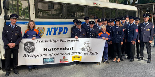 """I want to be a part of it..."" - Freiwillige Feuerwehr Hüttendorf in New York"
