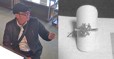 Landshut: 60.000-Euro-Ring geklaut! Diesen Schmuckdieb sucht die Polizei