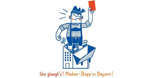 """""""Uns glangt's!"""" Volksbegehren soll Mieten in Bayern einfrieren"""