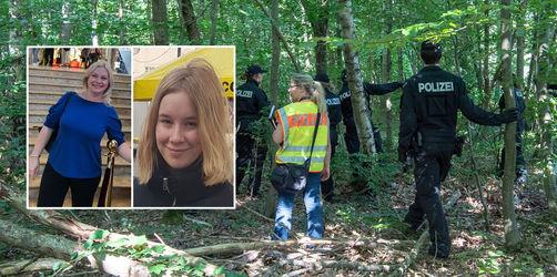 Fall vermisster Mutter und Tochter: Münchner Polizei findet blutige Fußmatte