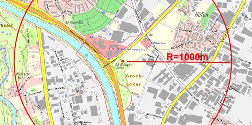 Fliegerbombe in Nürnberg: Feuerwehr spricht von akuter Explosionsgefahr