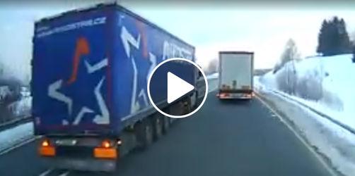 Prozess in Passau: Lkw-Raudi wegen dieser gefährlichen Fahrt verurteilt