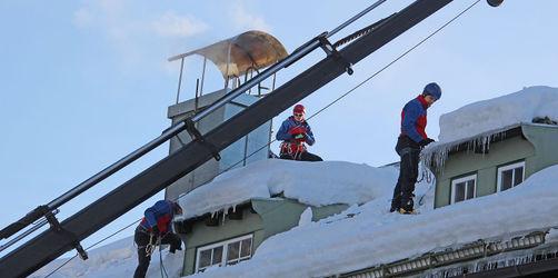 Schneekatastrophe im Berchtesgadener Land – Lage leicht entspannt