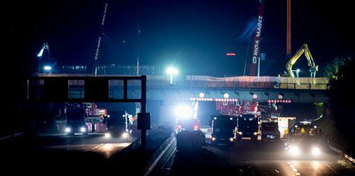 Vollsperrung der A3: Sechs Autobahn- Spuren für Franken