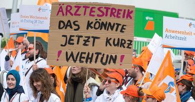Ärzte-Streik am 4. Februar: Diese Kliniken in Bayern sind betroffen