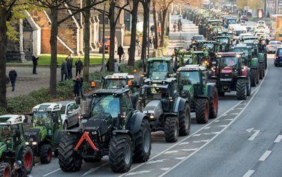 5.000 Traktoren bei Bauern-Demo: Verkehrsbehinderungen in Nürnberg