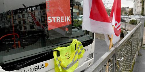 Busfahrer streiken für höhere Löhne: Hier kommt es heute zu Ausfällen