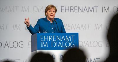 Deggendorf: Kanzlerin Merkel dankt Ehrenamtlichen für ihr Engagement