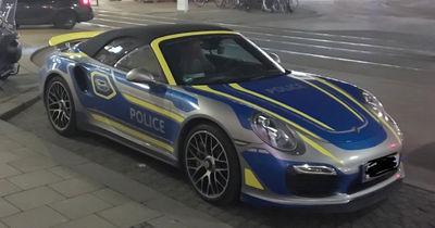 Fährt die Münchner Polizei neuerdings Porsche?
