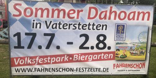 Sommer Dahoam: So findet das Ersatz-Volksfest in Vaterstetten statt
