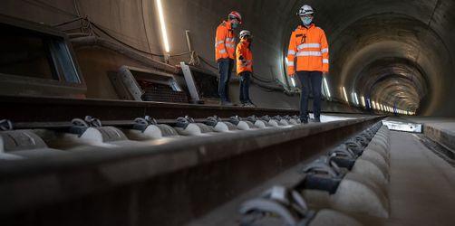 Von Nürnberg bis Steinach: DB übergibt Pläne für Güterzugtunnel
