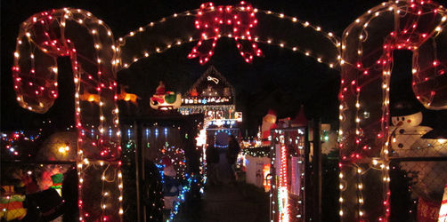 Das Weihnachtshaus in Veitshöchheim: Ein echter Hingucker