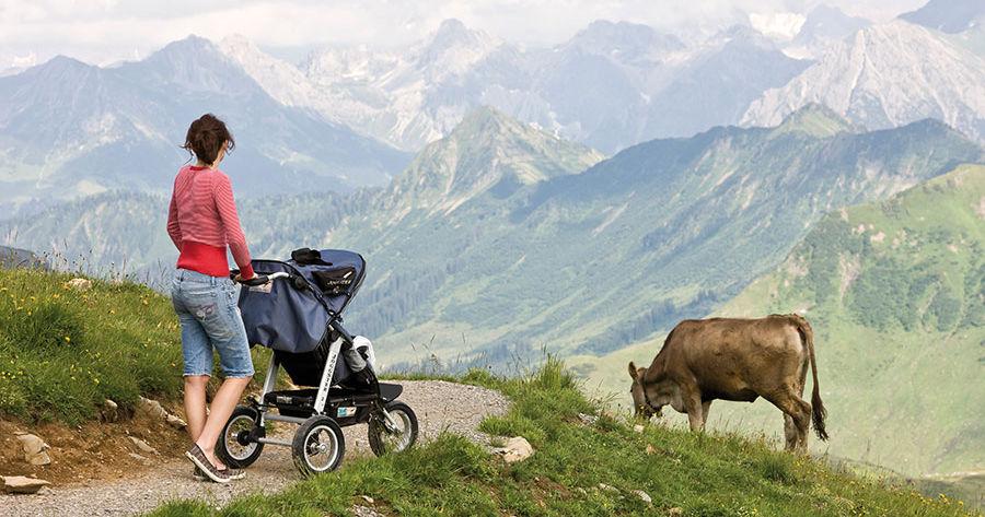 Wandern mit kinderwagen die sch nsten touren bayerns f r for Wir in bayern moderatoren