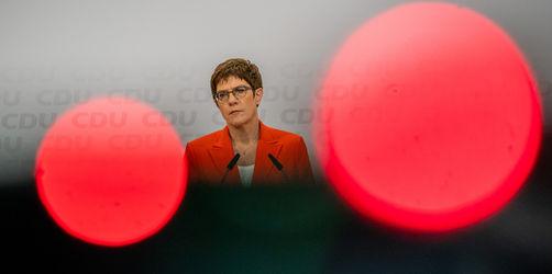 Kramp-Karrenbauer verzichtet auf Kanzlerkandidatur und CDU-Vorsitz