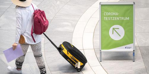Ab sofort: Verpflichtende Corona-Tests für Rückkehrer aus Risikogebieten