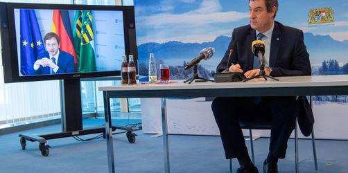 Gemeinsam gegen Corona: Bayern und Sachsen beschließen Covid19-Allianz