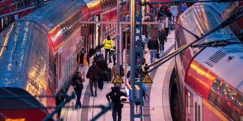 Notfahrplan und Rechte der Reisenden: Alle Infos zum Bahnstreik