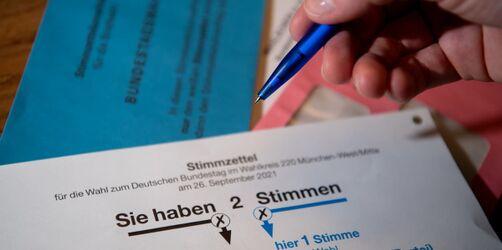 Briefwahlen: So funktioniert der Stimmzettel zur Bundestagswahl