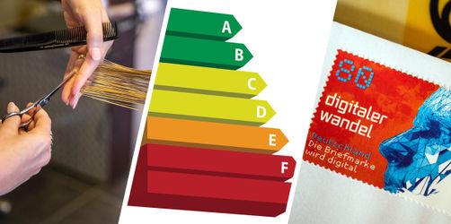 Neue Energielabel, Briefmarken & mehr: Das ändert sich im März
