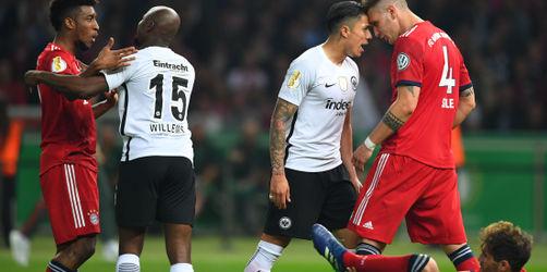 FC Bayern verliert im DFB-Pokalfinale gegen Eintracht Frankfurt