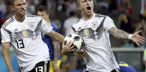 Deutschland gewinnt 2:1 gegen Schweden