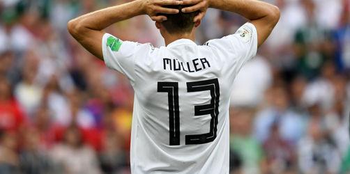 Bitterer WM-Auftakt für Deutschland - 0:1 gegen Mexiko