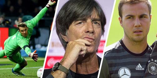 Löw benennt 27 Kandidaten für WM-Kader: Neuer dabei, Götze raus!