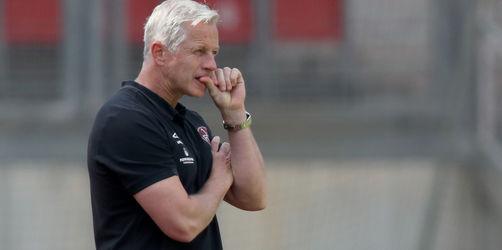 Aus für Jens Keller: 1. FC Nürnberg trennt sich vor Relegation vom Trainer