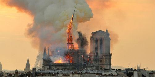 Ursache für Feuer von Notre-Dame? Gerüstbaufirma gerät unter Verdacht
