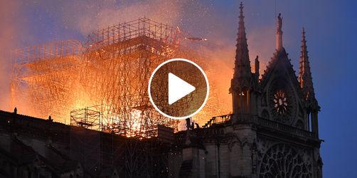 Pariser Brand-Katastrophe: Feuerwehr veröffentlicht Einsatzvideo und Bilder