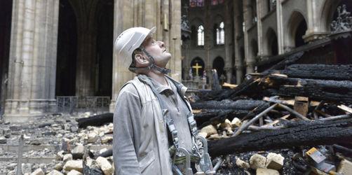 Fotos aus dem Inneren: Erstmals ist die Zerstörung von Notre-Dame zu sehen