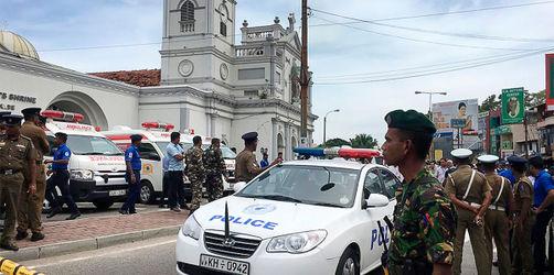 Sri Lanka: Mindestens 185 Tote bei Terroranschlägen