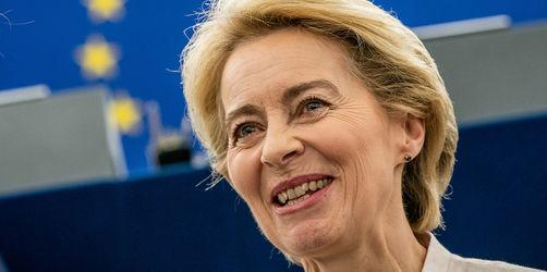 Mehrheit stimmt dafür: Von der Leyen ist neue EU-Kommissionspräsidentin