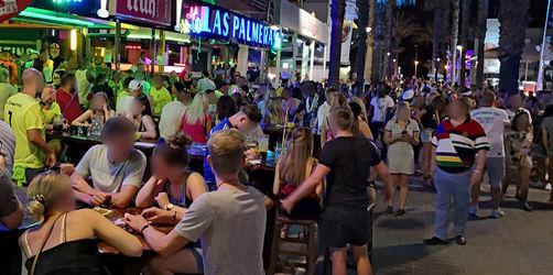 Nach illegalen Partys: Mallorca schließt alle Lokale am Ballermann