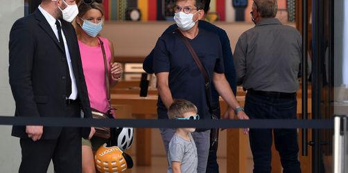 Corona: Österreich führt Maskenpflicht wieder im gesamten Land ein
