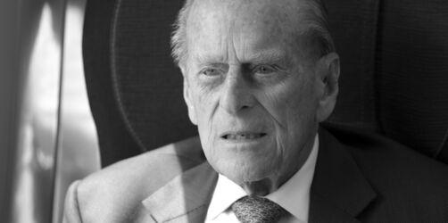 Trauer in England: Prinz Philip, der Ehemann der Queen ist tot
