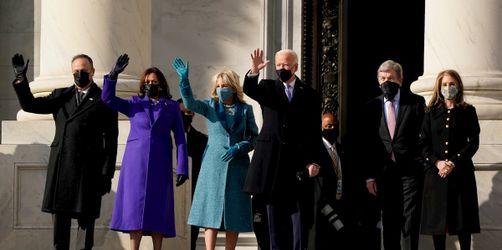 Machtwechsel im Weißen Haus: Joe Biden als 46. Präsident der USA vereidigt