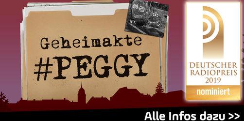 """Deutscher Radiopreis: ANTENNE BAYERN Podcast """"Geheimakte Peggy"""" nominiert!"""